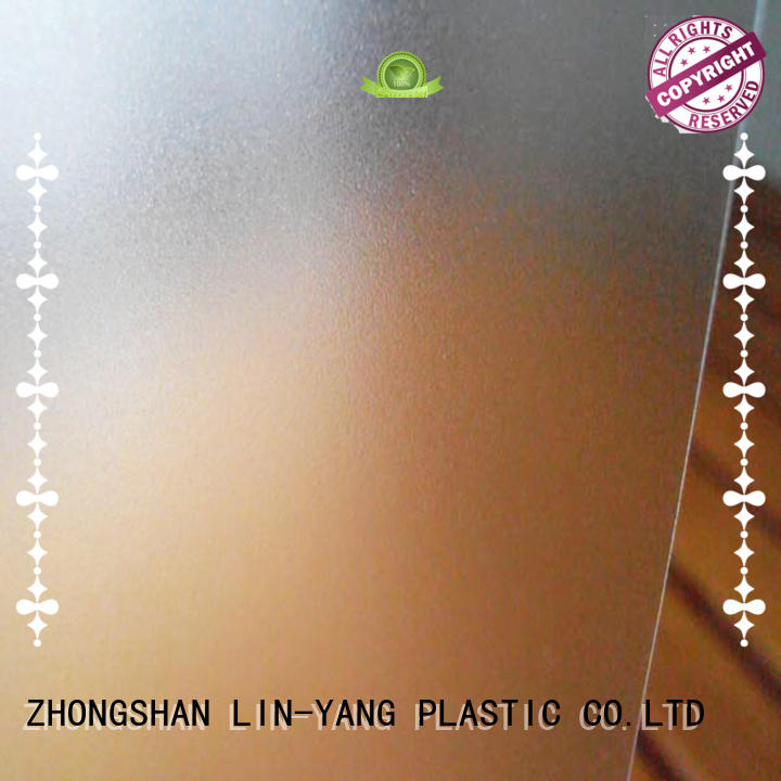 pvc films for sale office Translucent PVC Film LIN-YANG Brand