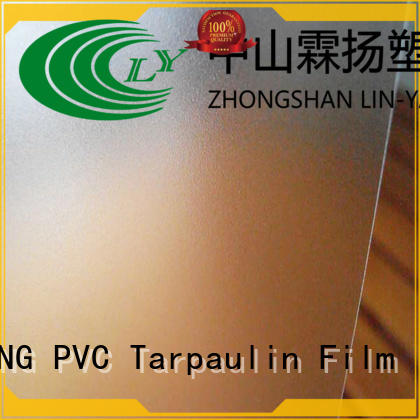 store hotel LIN-YANG Brand Translucent PVC Film