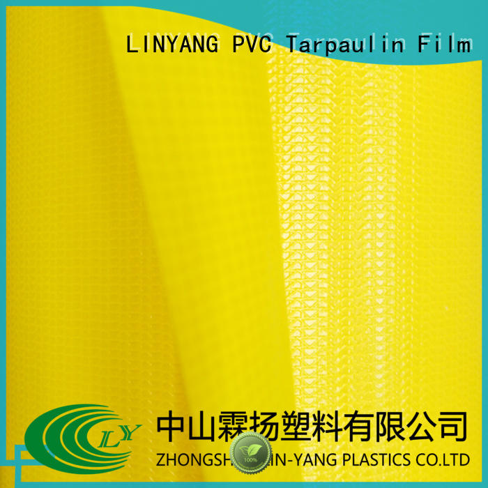 LINYANG pvc tarpaulin factory for outdoor