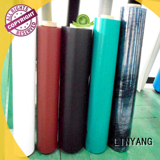 LINYANG waterproof inflatable pvc material pvc for inflatable boat
