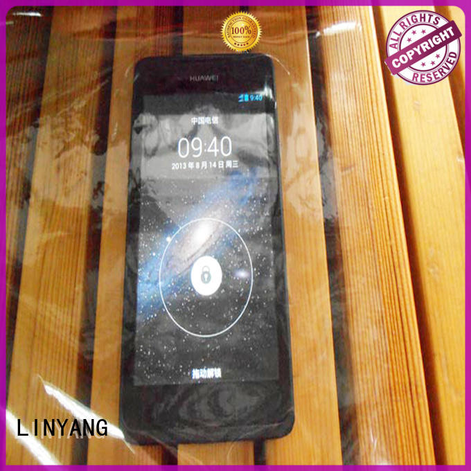 LINYANG transparent clear pvc film customized for handbags membrane