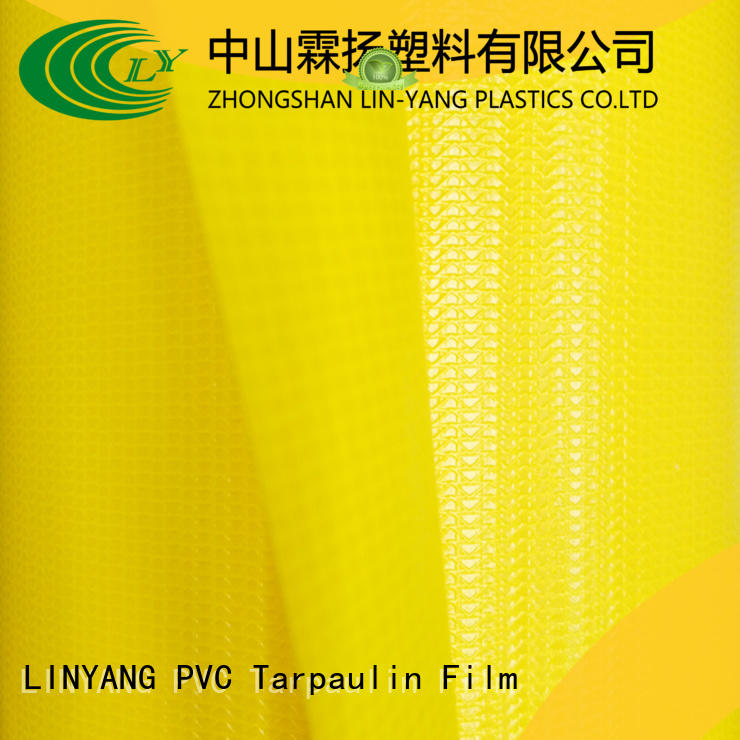 LINYANG PVC Tarpaulin fabric factory for outdoor