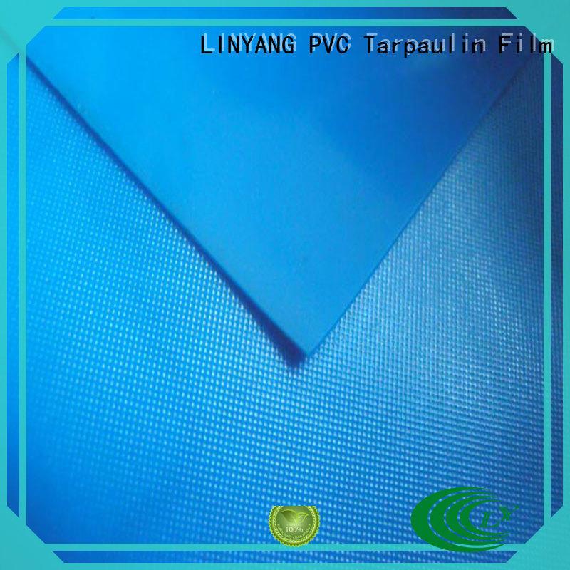 LINYANG antifouling pvc film roll factory price for raincoat