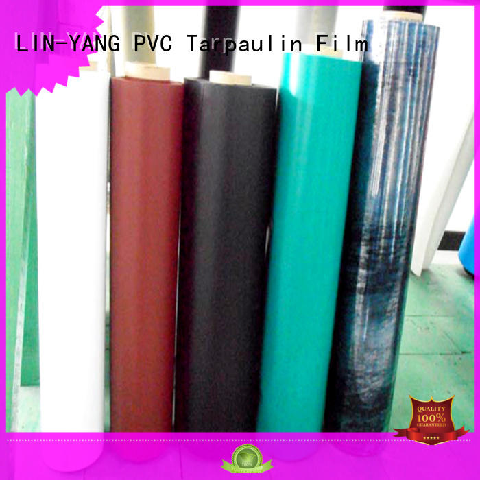 LIN-YANG Brand customized popular durable pvc plastic film low cost