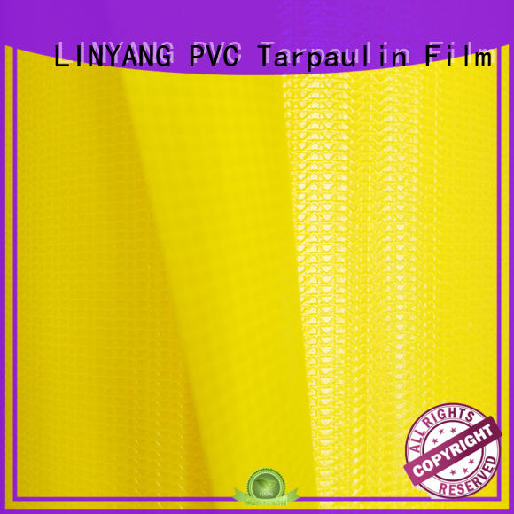 LINYANG heavy duty pvc coated fabric manufacturer for outdoor