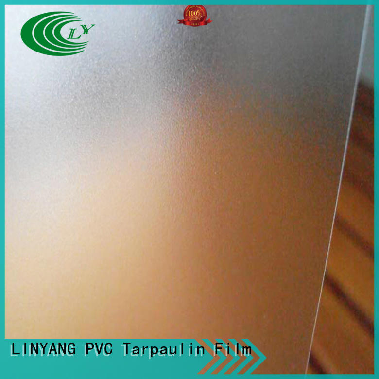 widely used pvc film eco friendly film manufacturer for shower curtain