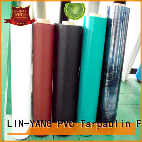 best price Inflatable Toys PVC Film customized colorful LIN-YANG company