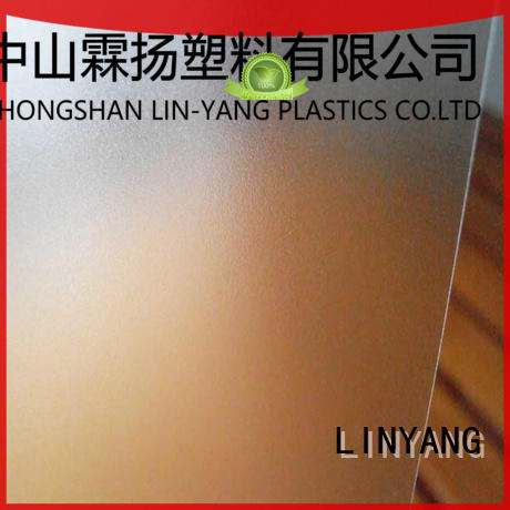 LINYANG translucent pvc film eco friendly inquire now for raincoat