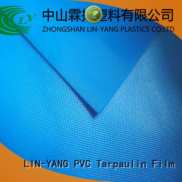 LIN-YANG Brand antifouling variety pvc film price packaging supplier