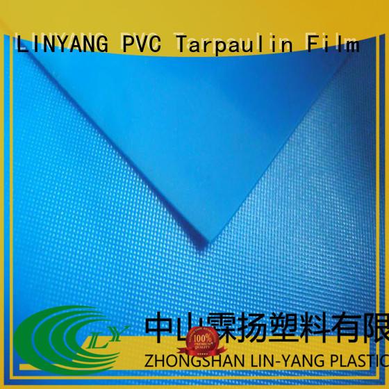 LINYANG antifouling pvc film roll series for raincoat