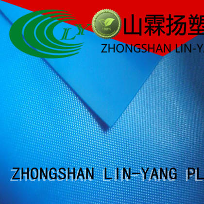 Quality LIN-YANG Brand waterproof weather ability rich pvc film roll