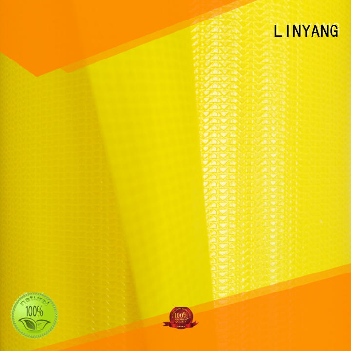 LINYANG high quality pvc coated fabric factory for sale
