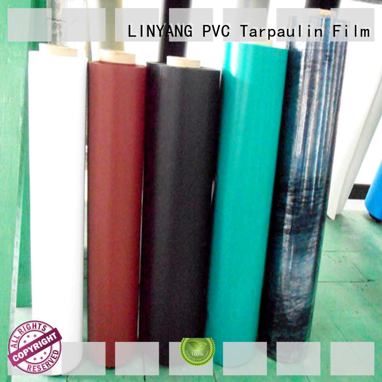 LINYANG good transparency inflatable pvc film with good price for aquatic park