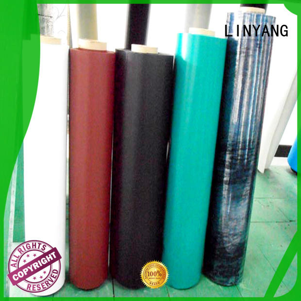 LINYANG finely ground inflatable pvc film customized for aquatic park