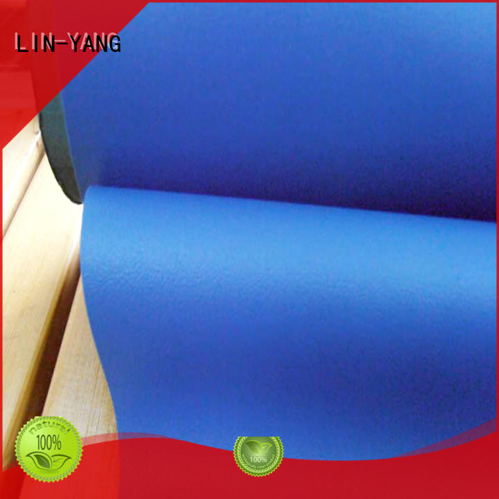 semirigid anti-fouling durable LIN-YANG Brand Decorative PVC Filmfurniture film