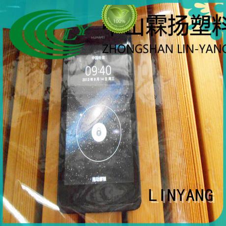 LINYANG pvc Transparent PVC Film wholesale for industry