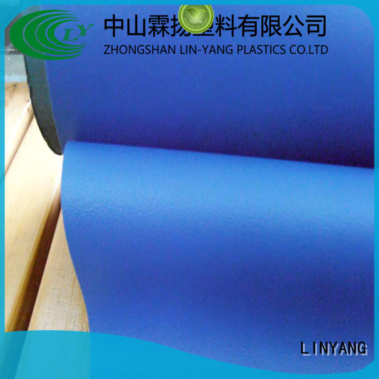 LINYANG rich clear pvc film factory price for indoor