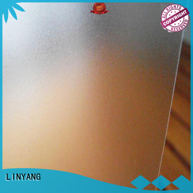LINYANG pvc pvc film eco friendly personalized for plastic tablecloth