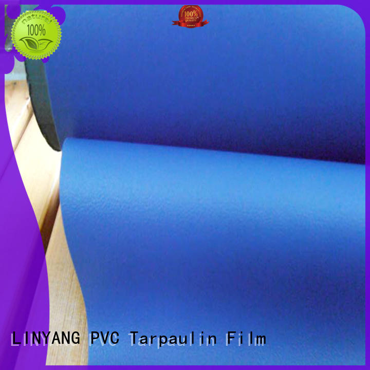 LINYANG semi-rigid pvc film manufacturers pvc for indoor