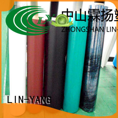 good transparency pvc film price customized for outdoor