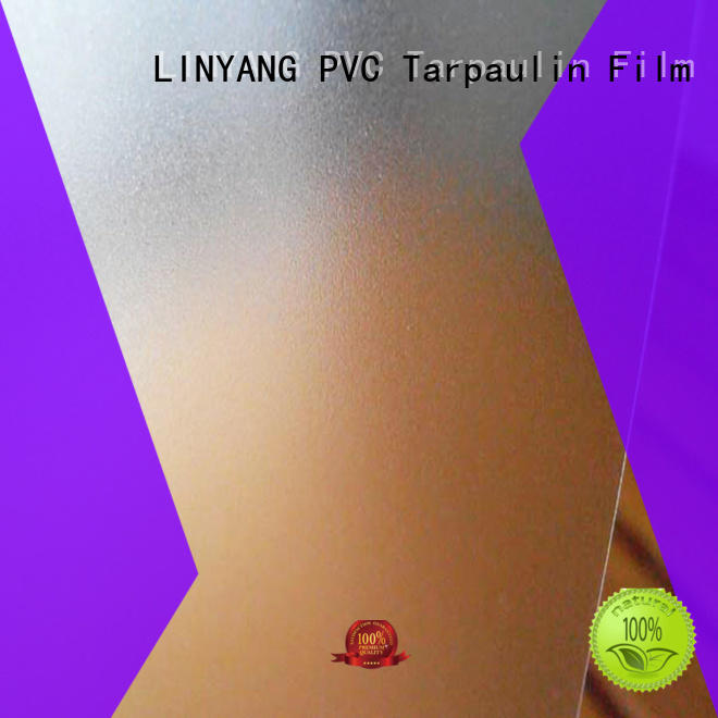 LINYANG waterproof pvc film eco friendly inquire now for shower curtain