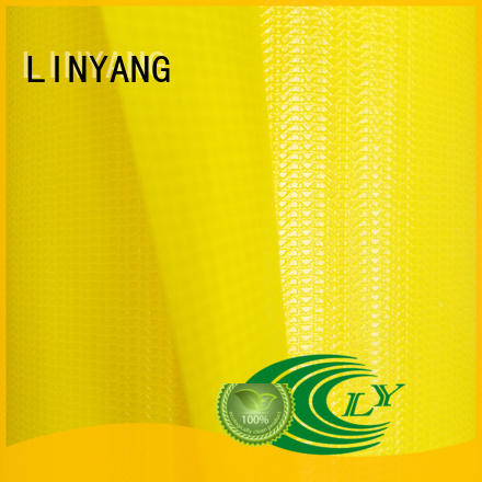 LINYANG weatherability tarpaulin film series for tent tarps
