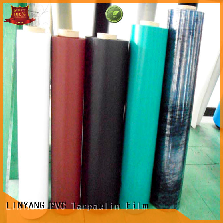 LINYANG finely ground pvc film price waterproof for inflatable boat