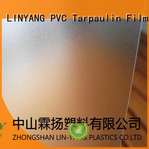 LINYANG translucent Translucent PVC Film directly sale for umbrella
