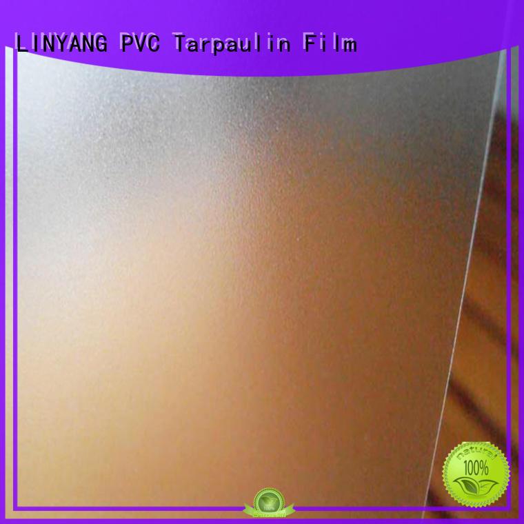 pvc films for sale antifouling for raincoat LINYANG