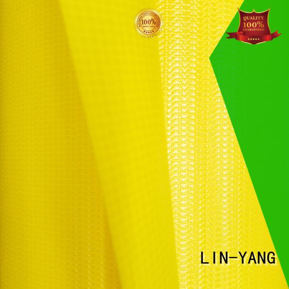 pvc multi-purpose Cover tensile membrane structure resistant LIN-YANG
