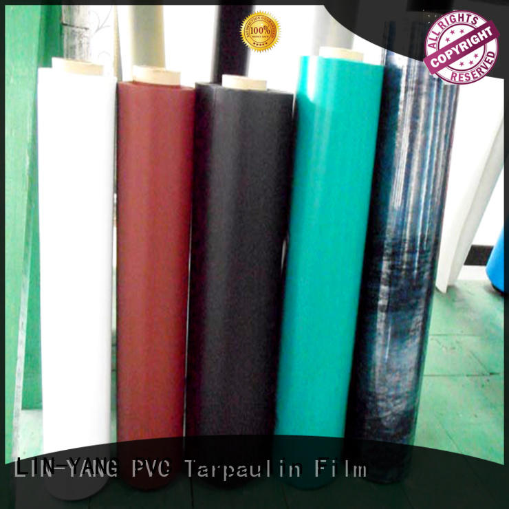 waterproof Inflatable Toys PVC Film pvc for outdoor LIN-YANG