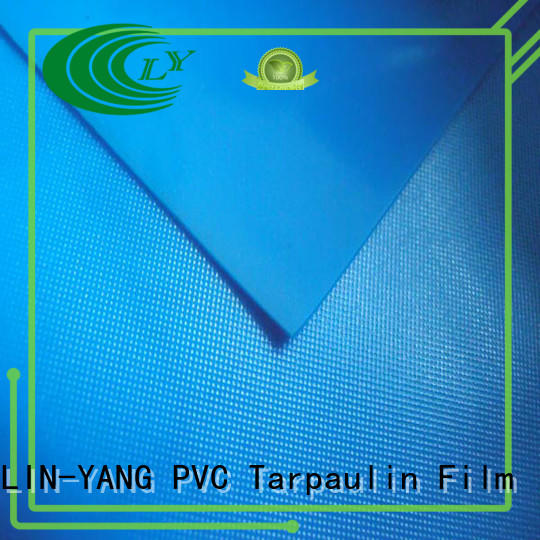 LIN-YANG Brand multiple extrusion antifouling custom pvc film price