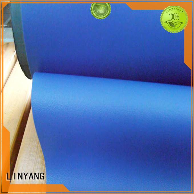 LINYANG semi-rigid Decorative PVC Filmfurniture film supplier for handbags