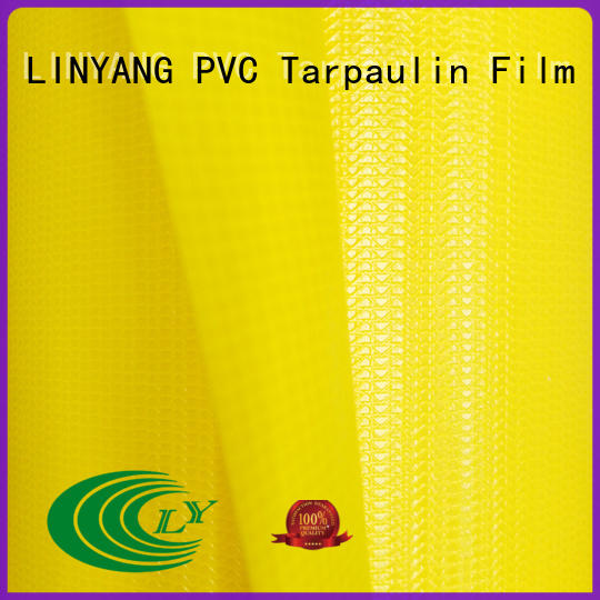 tensile pvc tarpaulin supplier for advertising banner LINYANG