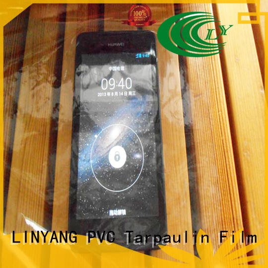 LINYANG antifouling Transparent PVC Film customized for outdoor