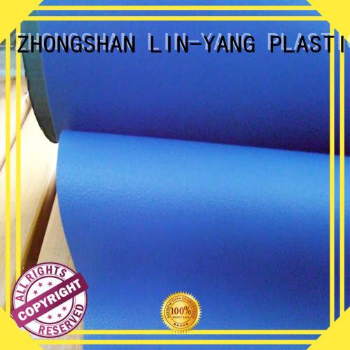 Custom cost-efficient anti-fouling Decorative PVC Filmfurniture film LIN-YANG smooth