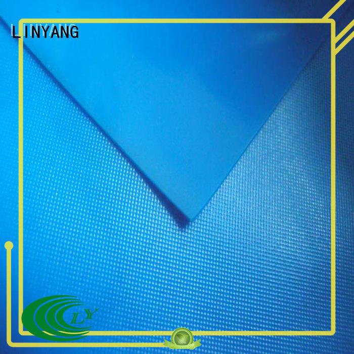 LINYANG variety pvc plastic sheet roll series for raincoat