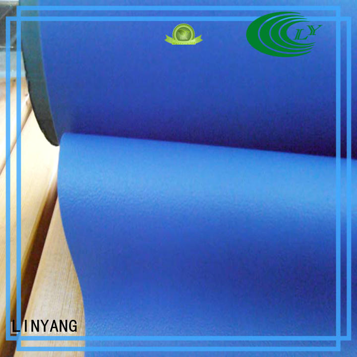 LINYANG antifouling Decorative PVC Filmfurniture film supplier for handbags