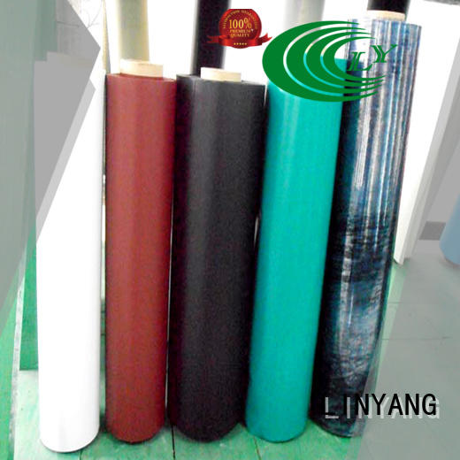 LINYANG weatherability inflatable pvc film with good price for inflatable boat