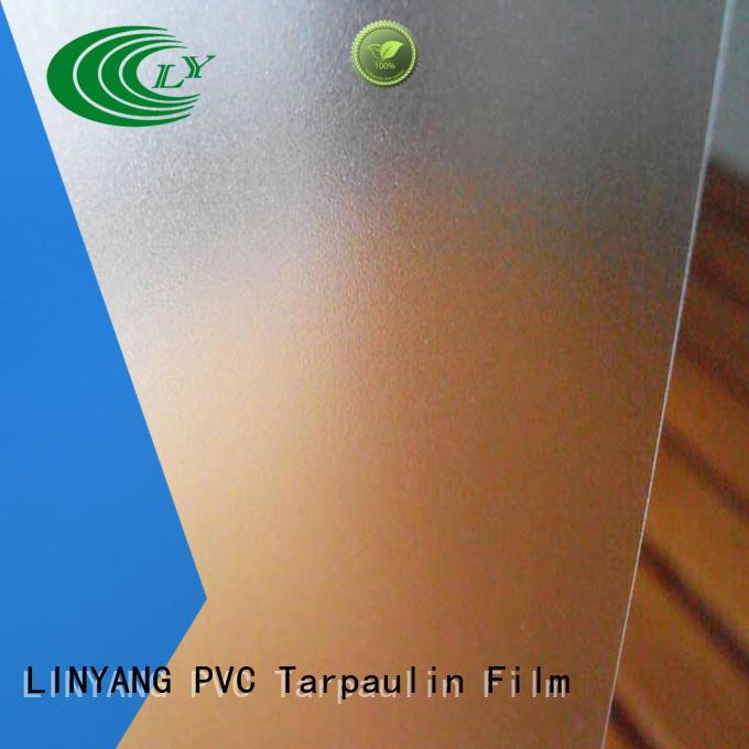 translucent Translucent PVC Film inquire now for umbrella LINYANG