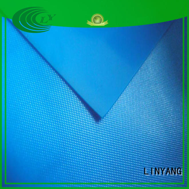 LINYANG widely used pvc film roll factory price for raincoat
