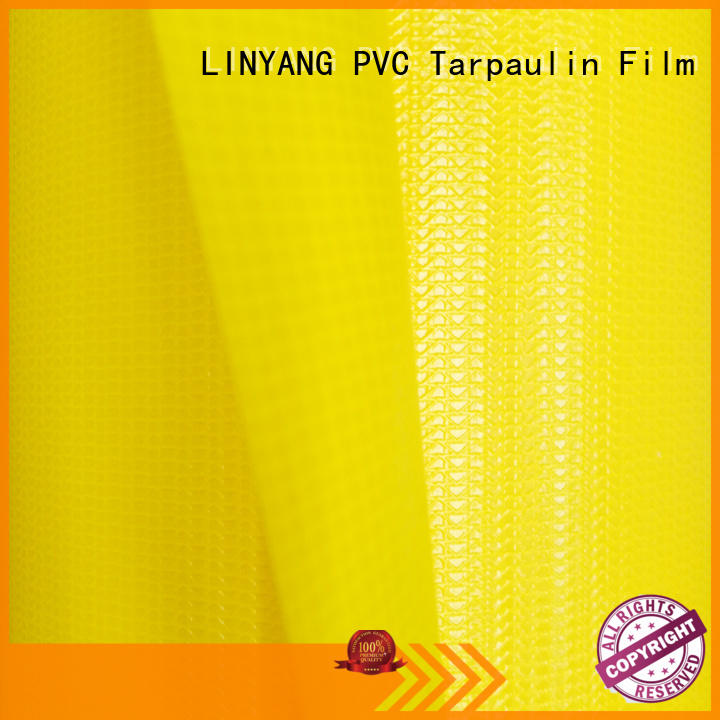 LINYANG weatherability tarpaulin film factory price for geotextile