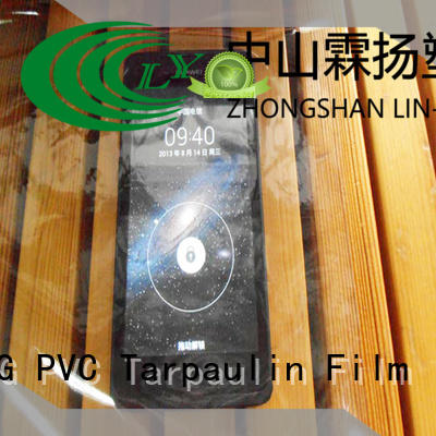 Wholesale anti-fouling low cost Transparent PVC Film LIN-YANG Brand