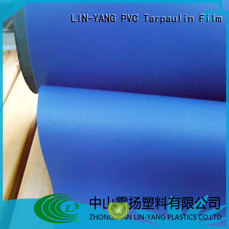 LIN-YANG Brand rich pvc film manufacturers waterproof supplier