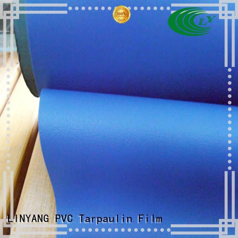LINYANG semirigid self adhesive film for furniture design for handbags