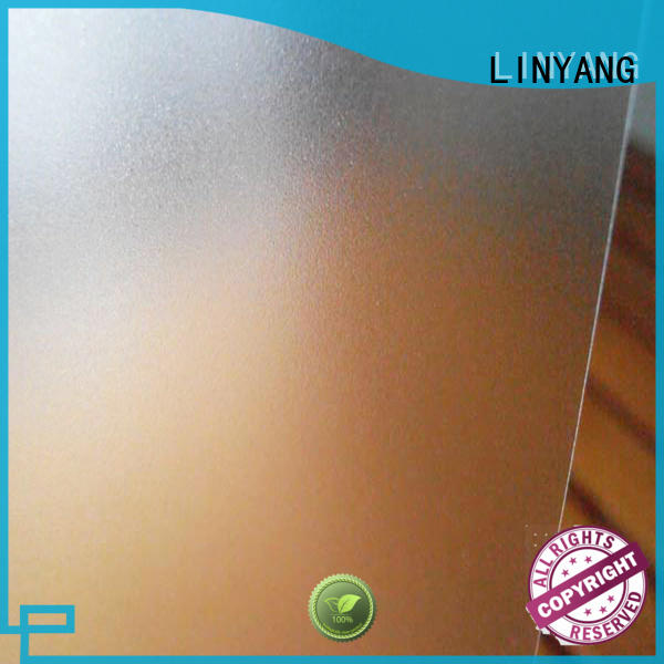 LINYANG antifouling Translucent PVC Film from China for plastic tablecloth