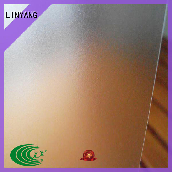 antifouling Translucent PVC Film manufacturer for shower curtain LINYANG