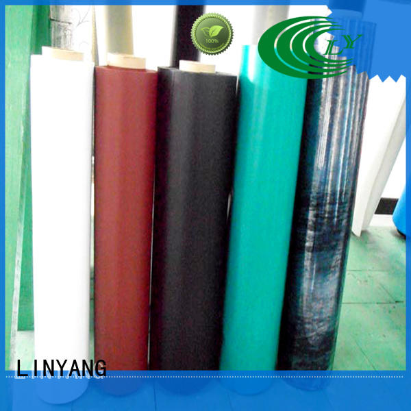 LINYANG finely ground inflatable pvc material antifouling for aquatic park