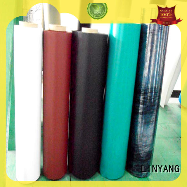 LINYANG finely ground Inflatable Toys PVC Film with good price for inflatable boat