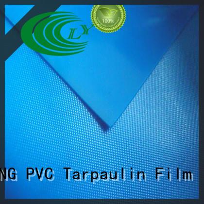 waterproof pvc plastic sheet roll antifouling design for raincoat